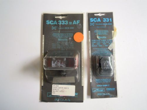 METZ SCA 333/2 AF PLUS SCA331 FOR MINOLTA